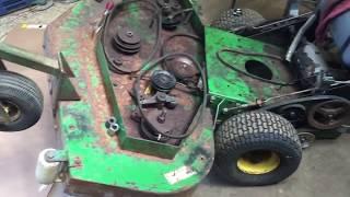 John Deere Walk Behind Project Repairs- Motor progress