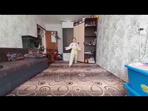 4 удары ногами - YouTube