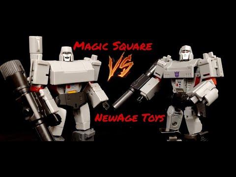 Newage VS Magic Square Megatron by Deluxe Baldwin