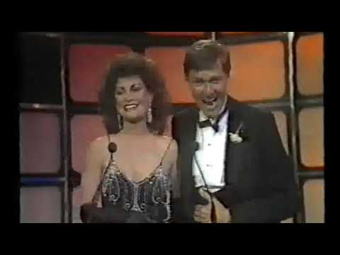 1985 TV Week Logie Awards Jane Badler, Greg Evans