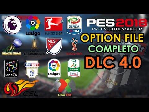PES 2018 OPTION