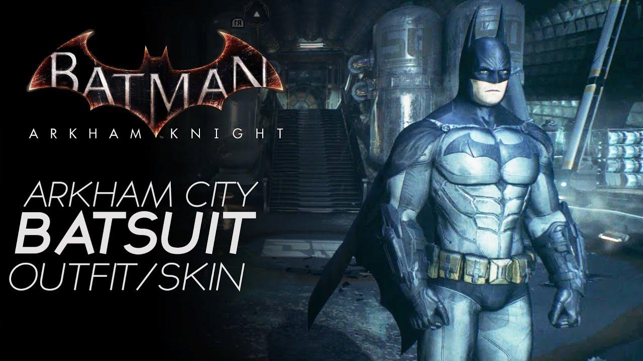batman arkham knight arkham city skinoutfit gameplay