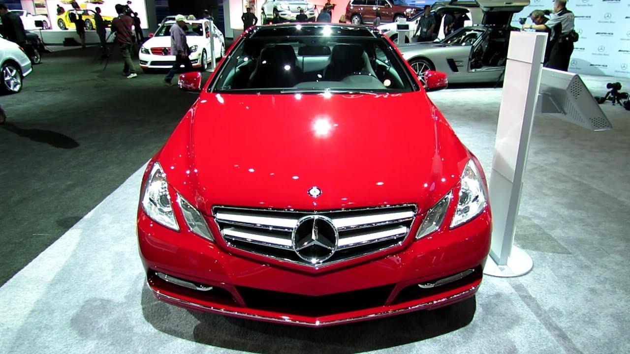 2013 MercedesBenz E350 Coupe  Exterior and Interior Walkaround