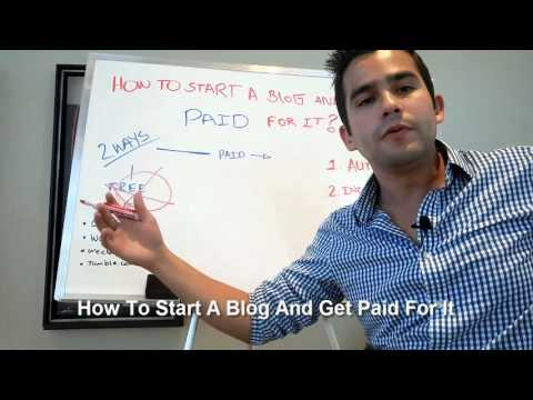 How To Start A Blog And Get Paid For It - Step By Step Training Inside