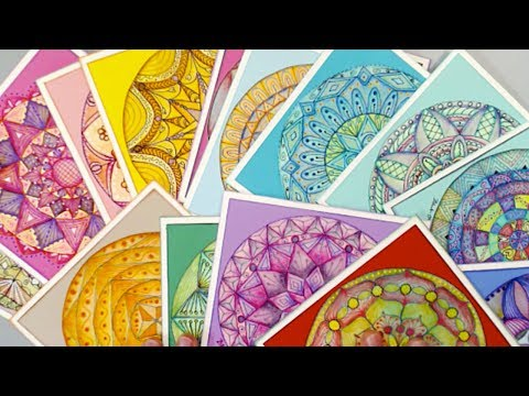 Amethyst Mandala - How I Created this Mandala - Mandala Art from YouTube · Duration:  3 minutes 22 seconds