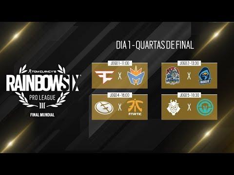 R6 Pro League LATAM - Playday 1 - Faze Vs NiP - BD Vs RD - INTZ VS PAIN - Immortals Vs Liquid