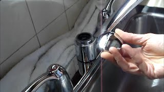 Two Handle Kitchen Faucet Repair