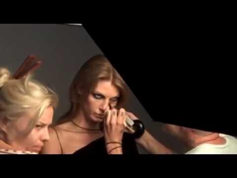 Angela Lindvall, le making of - Madame Figaro