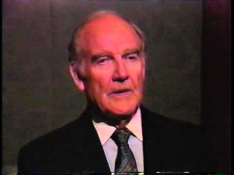 George McGovern Consoles Dukakis After Loss to Bush and Defends Liberals
