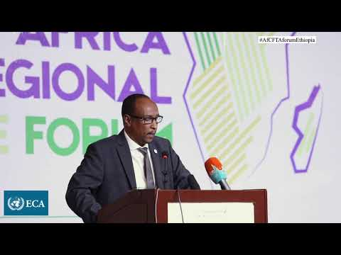 Remarks by Djibouti Health Minister, Mohamed Warsama, at the AfCFTA Forum in Ethiopia, 2019