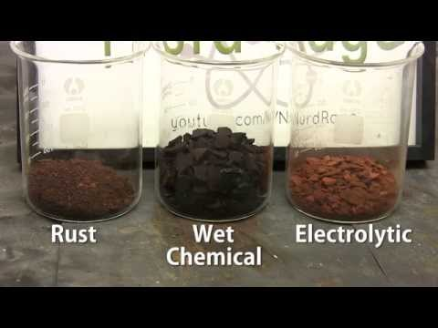 Make Iron Oxide (for Thermite)