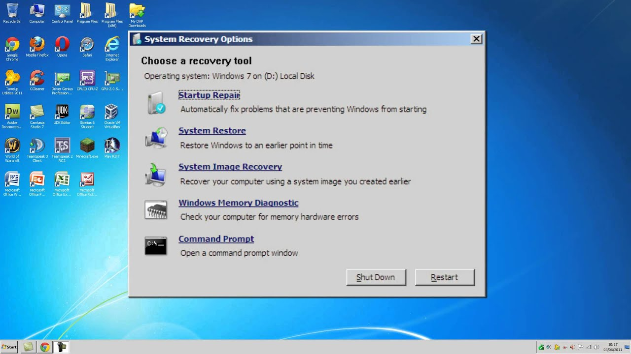 Download Recovery CD for Windows Vista
