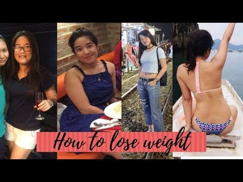 How to lose weight without exercise | Lovely Nadora (Philippines)