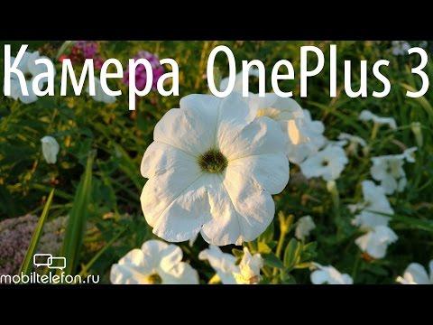 Камера OnePlus 3: примеры видео на основную и фронтальную камеры (camera test)
