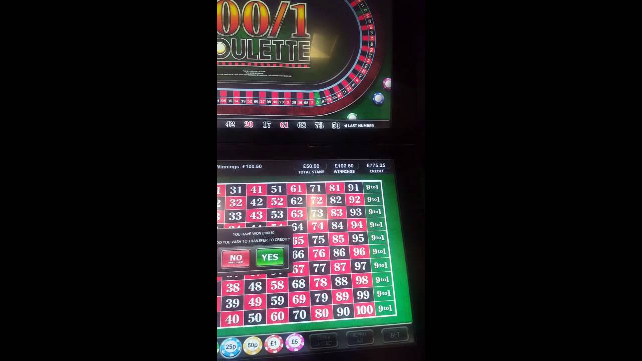100 to 1 roulette big win best gambling site offers