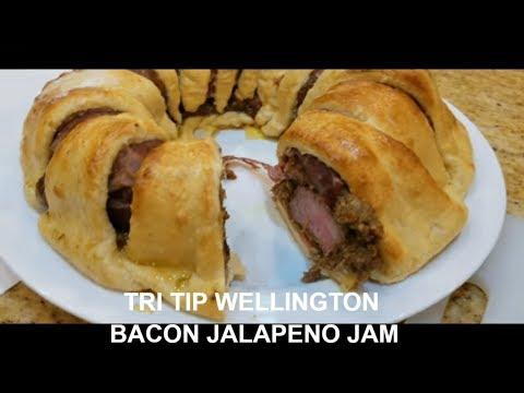 Tri Tip Wellington Bacon Jalapeno Jam PK Grill PKTX BBQ Champion Harry Soo How-to SlapYoDaddyBBQ.com