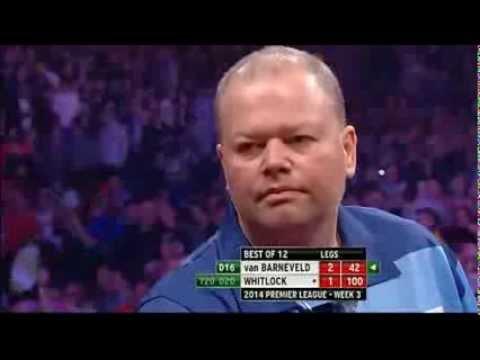 Raymond van Barneveld vs Simon Whitlock  Week Three Premier League Darts 2014