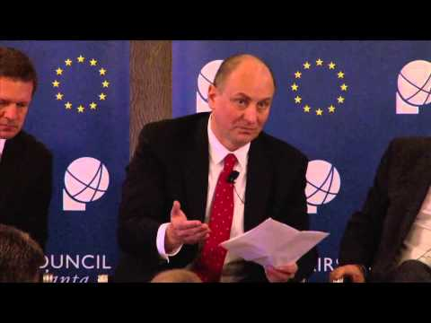 """March 11, 2014 Ambassadors Forum Luncheon - """"Central Europe's V4: Quest for a Shared Future"""""""