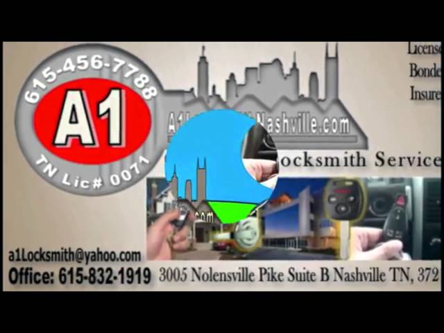 A-1 Locksmith Nashville TN 615-900-5555