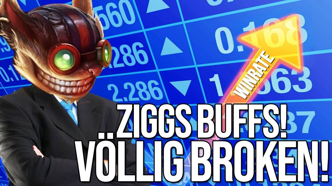Ziggs jetzt zu stark! | Ziggs Buffs im letzten Patch
