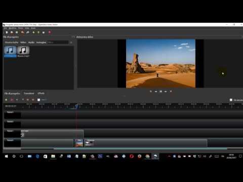 Come creare video gratis con filmati, foto e musica con OpenShot