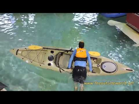 How to Re Enter a Sit On Top Kayak