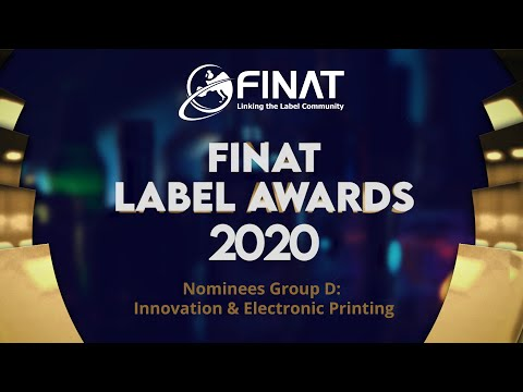 FINAT Label Competition 2020: Nominees Group D: Innovation & Electronic Printing