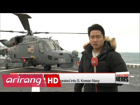New Wildcat helicopters integrated into S. Korean Navy