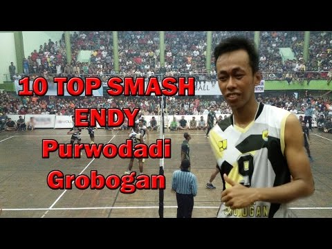 10 Top Smash Endy Pemain Bola Voli Purwodadi Grobogan