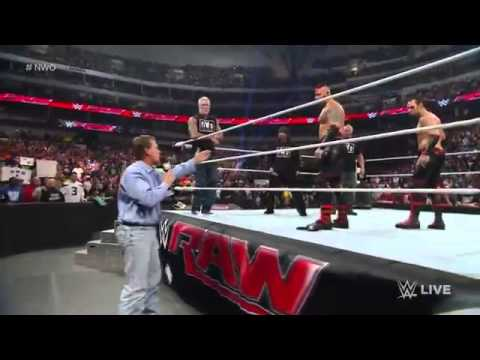 NWO and The New Age Outlaws and The Acolytes Return Raw 01192015