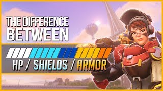 The Difference Between HP/SHIELDS/ARMOR (2019)