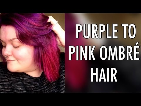 how to dye your hair purple and pink ombre la riche directions flamingo and plum hair