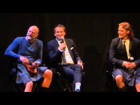 Tobias Menzies & Graham McTavish discuss their Outlander characters