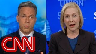 Tapper to Gillibrand: You've called Trump's comments racist. How about yours?