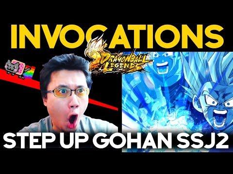 MA MEILLEURE VIDEO D'INVOCATIONS SUR DB LEGENDS - STEP UP GOHAN SSJ2