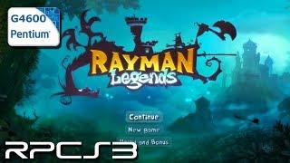 RPCS3 0.0.8-9528 - Rayman Legends - Pentium G4600 - Test