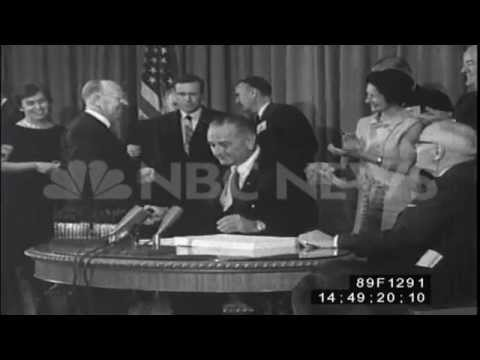 Medicare Bill Is Signed Into Law - July 30, 1965