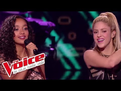 Lucie, Shakira et Black M - « Comme Moi » | The Voice France 2017 | Live