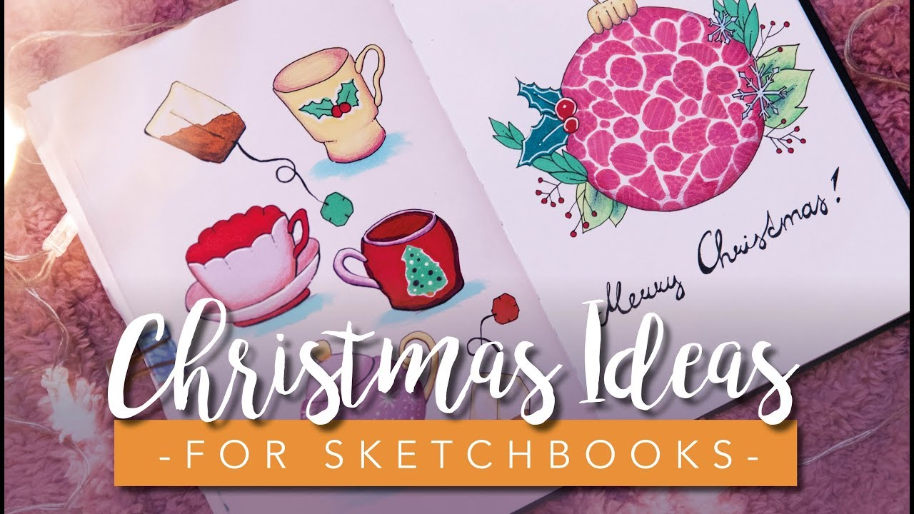 Christmas Drawing Ideas.Christmas Drawing Ideas Super Easy