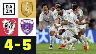 Elfmeterkrimi: Al Ain schockt River Plate: River Plate - Al Ain 4:5 | FIFA Klub-WM | Highlights