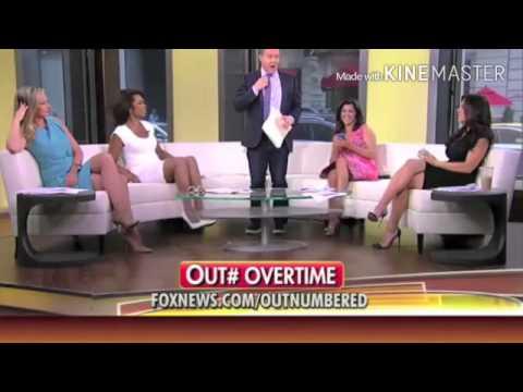 Harris Faulkner FARTS ON FOX