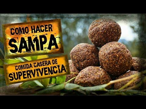 Como Hacer SAMPA / La Mejor RACIÓN DE EMERGENCIA Casera / Comida de SUPERVIVENCIA / MRE