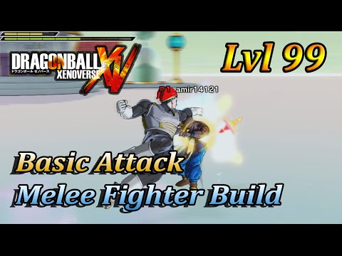 Dragonball Xenoverse Class Build: Basic Attack Melee Fighter