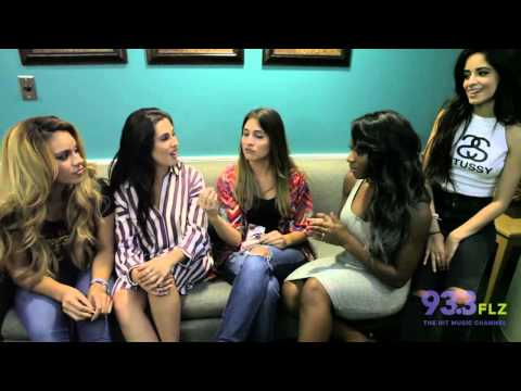 Fifth Harmony's Interview with Rose on 93.3 FLZ
