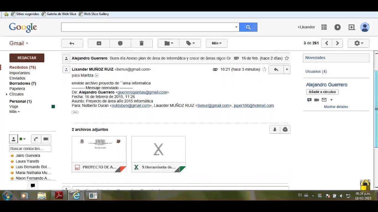 Responder Correo En Gmail Youtube