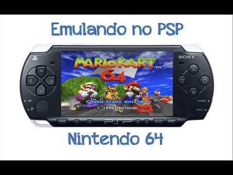 emulateur n64 pour psp 6.60