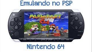 Emulando no PSP - Nintendo 64 [NOVO EMULADOR!!!]