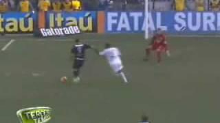 2 Gols de Ronaldo X Santos Narração Luciano do Valle