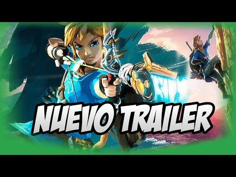 Reacción a The Legend of Zelda: Breath of the Wild Trailer 2017 Nintendo Switch