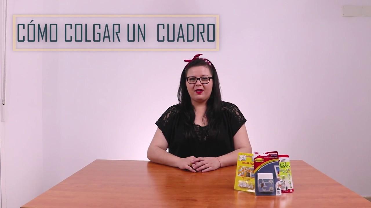 COLGAR CUADROS sin AGUJEROS | Consejos TUTUERCA - YouTube